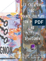 Dossier de presse Avignon 2019