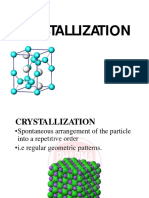 Lecture4 Crystallization