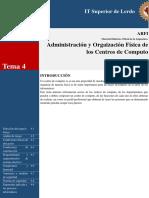 4 Administracion y Organizacion Fisica de Los Centros de Computo