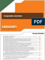 01 Newgen Corporate Overview 2019