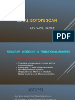 Renal isotope scan