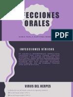 Infecciones orales