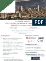 Investigación Medellín conflicto