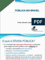 Aula Graduacao Setor Publico Gasto Deficit Divida 2019