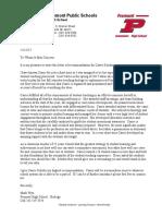 letter of rec mwyn