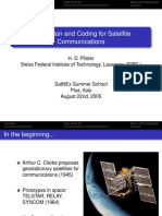 Modulations and Coding in Satellite Communications