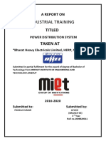 Project on Power System AYUSH 11