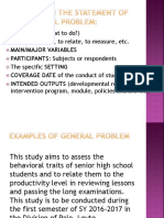 ELEMENTS IN THE STATEMENT OF THE GENERAL PROBLEM.pptx