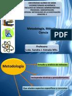 Metodologc3ada Mc3a9todos y Ciencia
