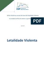 Letalidade VIolenta ISP