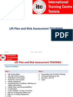 Lift Plan and Risk Assessment