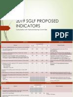 2019 Sglf Proposed Indicators