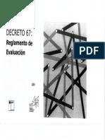Presentacion - Decreto 67. Diario Oficial - II