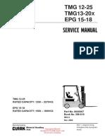 montacargas SERVIS MANUAL SM-616