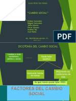 Factor Es Del Cambio Social