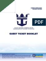Cruise itinerary