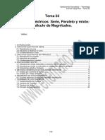 Tema 55. Circuitos Serie Paralelo