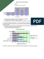Exercícios de Leitura de Gráficos.