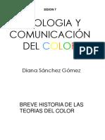 Sicologia y Comunicacion Del Color