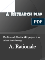 Research Plan Instructions