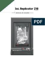 Manual z18 Impresion 3D FINAL