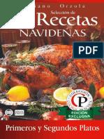Seleccion de 84 Recetas Naviden - Mariano Orzola