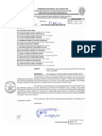 Oficio Múltiple N° 119-2019 Carrera Familiar 3K