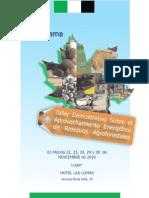 programa OFICIAL Taller Demostrativo Sobre El Aprovechamiento Energético De los Residuos Agroforestales  ( v1)