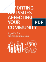 Health-e News and Sonke Gender Justice Citizen Journalism Guide