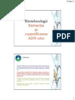 L 1 Extractia-ADN