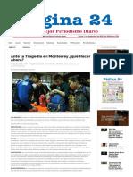 Rodríguez-Figueroa, H. M. (2017c, Enero 20). Ante La Tragedia en Monterrey. Qué Hacer Ahora