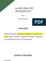 Clase #3 Funciones Anaiísís Matemático i