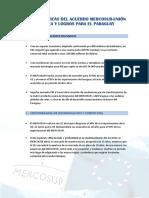 CANCILLERÍA Mercosur Acuerdo Miedicion