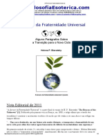 A Árvore da Fraternidade Universal - HPB
