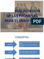 Tomando Posesion de Las Promesas Para El Ministerio