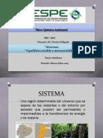 Sistema metaestable y sistema estable