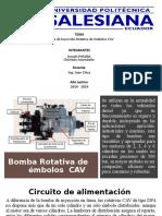 Bomba Rotativa de Embolos CAV