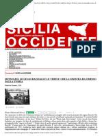 Mussolini, Le Leggi Razziali e Le Verita' Che La Sinistra Ha Omesso Dalla Storia _ Sicilia Occidente_barcellona Pozzo Di Gotto (Me)
