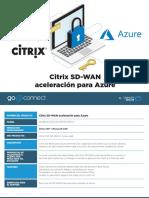 Citrix SD-WAN Azure