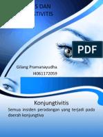 Konjungtivitis Dan Keratitis - Gilang Pramanayudha i4061172059