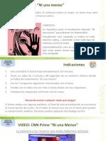 Comprension Auditiva C 02 Campaña Ni una Menos