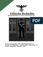 Völkischer Beobachter - The 1. SS [Do not Publish]