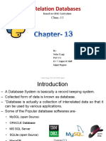 Chapter Eng13 Relational Databases IP