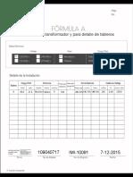 Formulario medidores