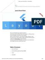 Flutter Layout Cheat Sheet – ProAndroidDev