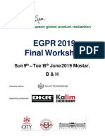 EGPR 2019 Workshop Brochure