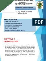 Diapositivas de Crisis de Valores en Al Ambito de Gobiernos Regionales y Locales