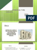 Diapositivas Etica Profesional y Del Cuidadoo