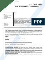 NBR 14802 - Papel de seguranca - Terminologia
