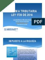 Reforma Tributaria LVM2014